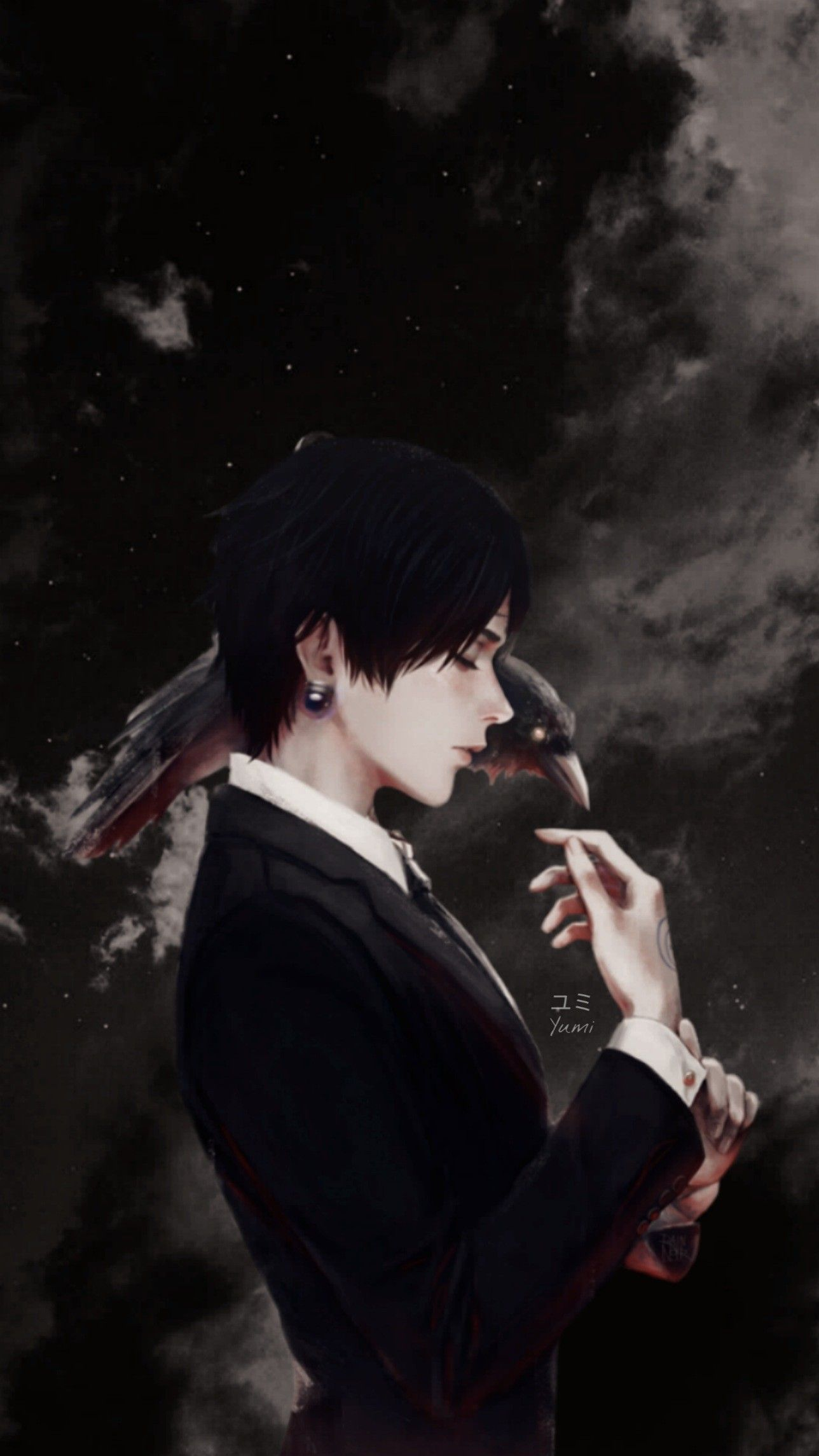 Kuroro Aesthetic Wallpaper Hunter X Hunter In 2020 Hunter X Hunter Dark Anime Aesthetic Wallpapers