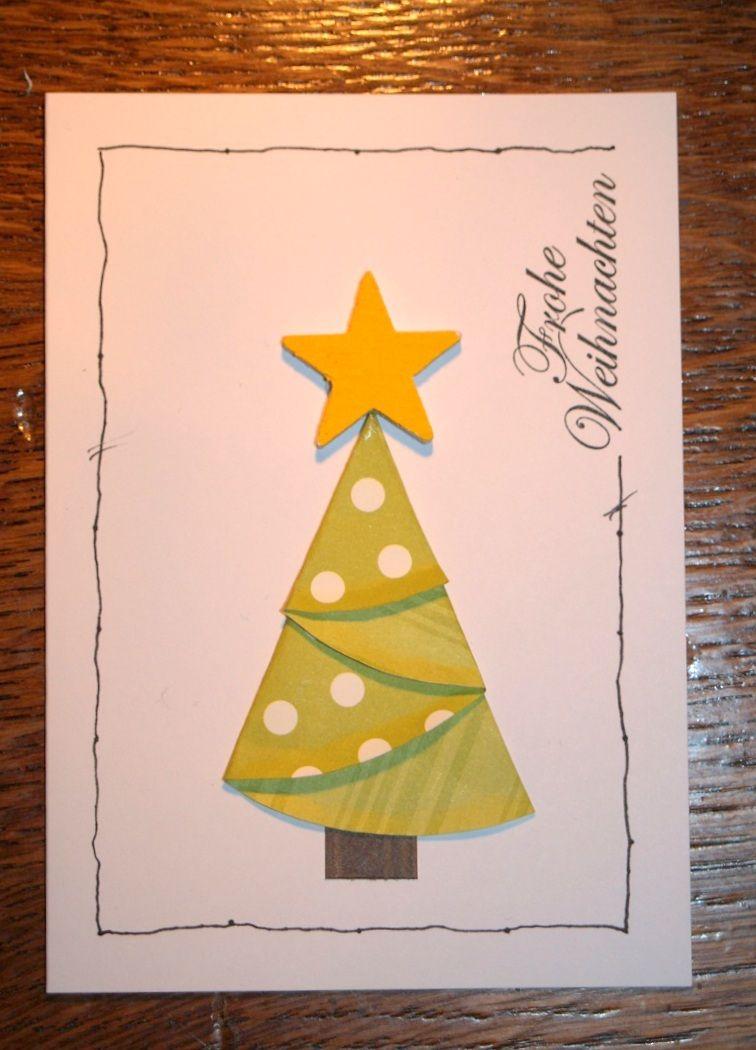 schnelle idee f r weihnachtskarten voscilnice. Black Bedroom Furniture Sets. Home Design Ideas
