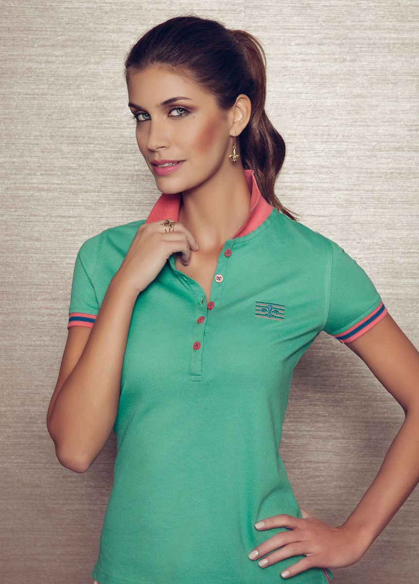 Camisas Polo Dudalina Feminina originalidade e autenticidade na   casualdenovamutum 65 3308 4200. f2481374514f2