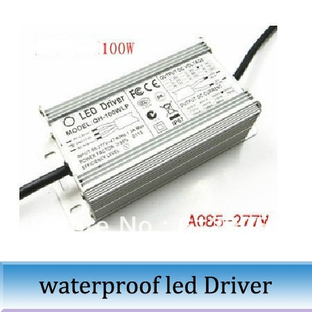43 00 Watch Here 100w Waterproof Led Drive Power 10 Series 10 Parallel Driver Isolation Constant Current Source Floodlight Power