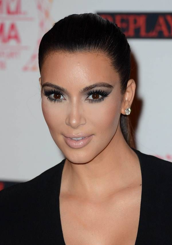 Kim K. has started the trend for great makeup and the best smokey ...