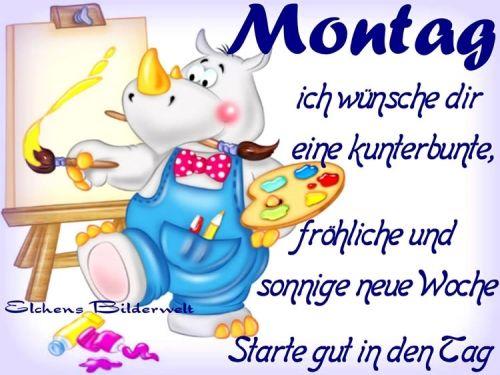 Monday Guten Morgen All Kommt Gut In Den Tag Neue