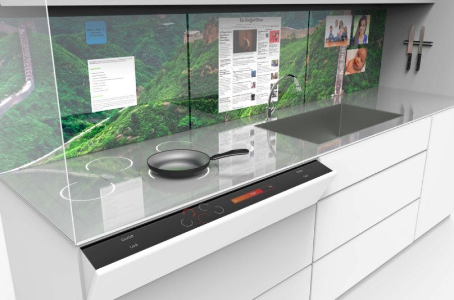 Kitchen of the future here now kitchen design future and industrial