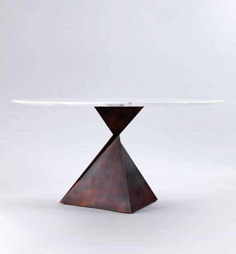 modern furniture pieces. ava round dining table tom faulkner statement pieces luxury furniture modern