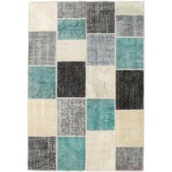 Photo of Patchwork Teppich 158×231 Moderner Teppich
