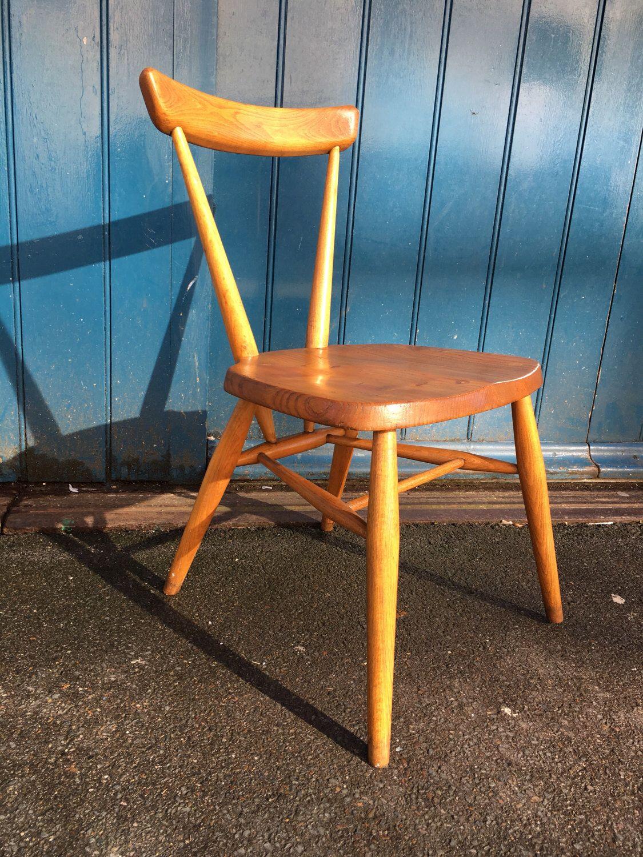 Bar Stools 1940s Evertaut Industrial Factory Dining Chair Vintage Kitchen Garden Metal