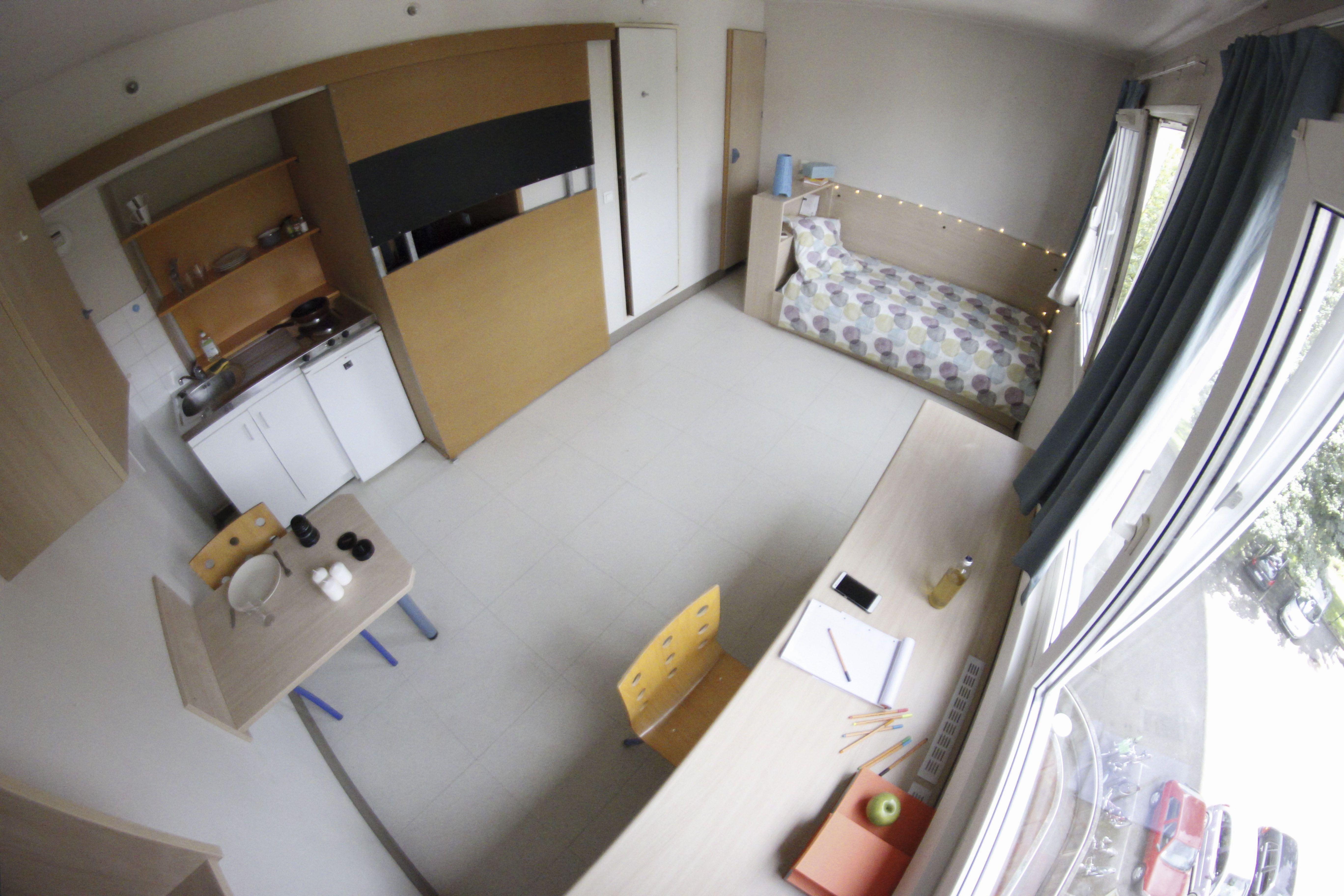 Exemple d 39 un studio r sidence weiss 2 en 2019 - Magasin salle de bain strasbourg ...