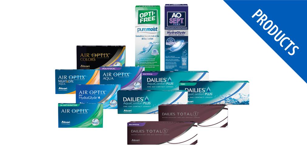 Available at Roberts and Quinn Aqua, Air optix, Quinn