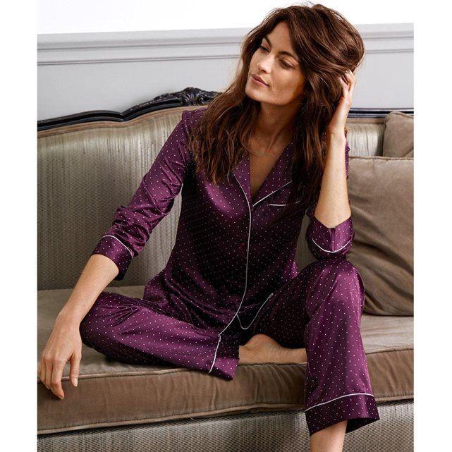 pyjama en satin pois louise marnay prix avis notation livraison le pyjama en satin 95. Black Bedroom Furniture Sets. Home Design Ideas