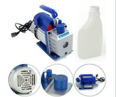 1 4hp 3cfm Rotary Vane Vacuum Pump Horsepower Vacuum Pump Blue Free Shipping In 2020 Vacuum