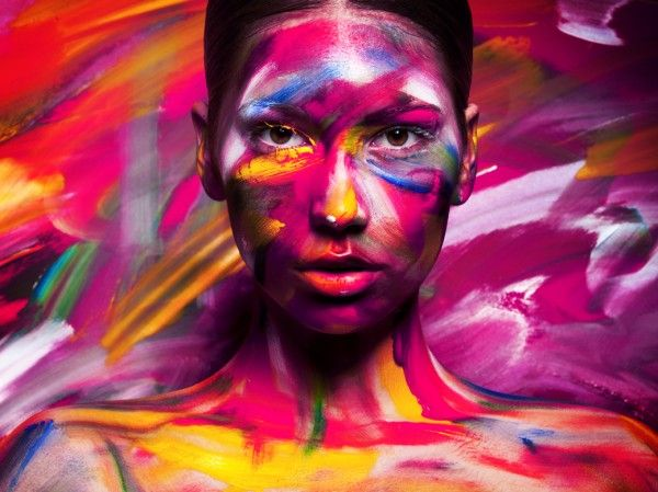 123 Inspiration Paint Photography Body Painting Face Art
