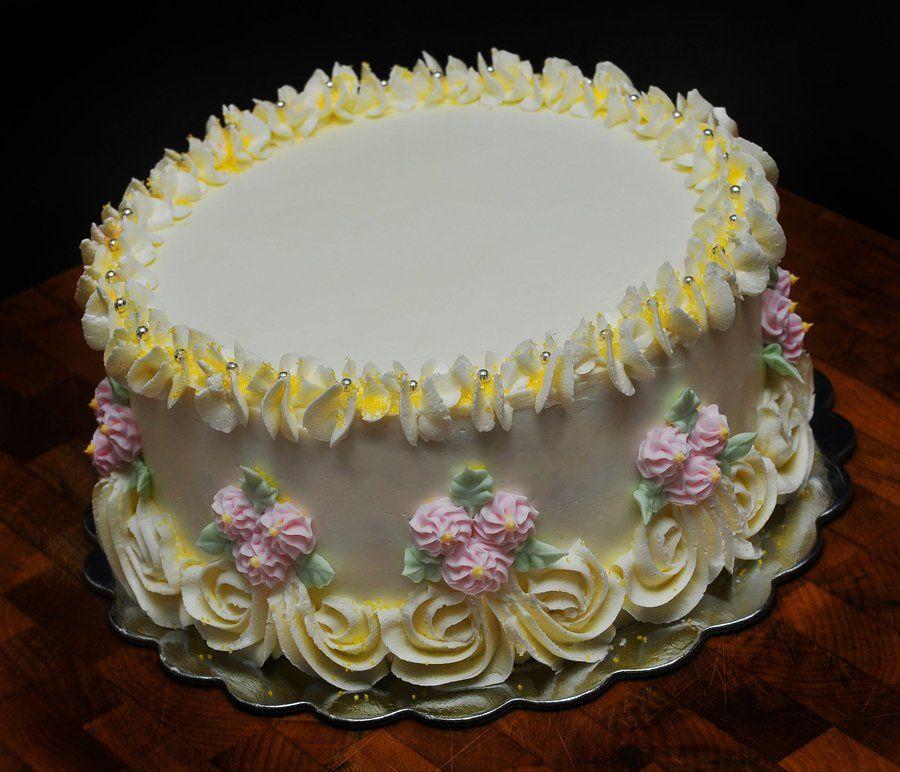 Birthday Cake Funfetti Cake With Vanilla Filling And