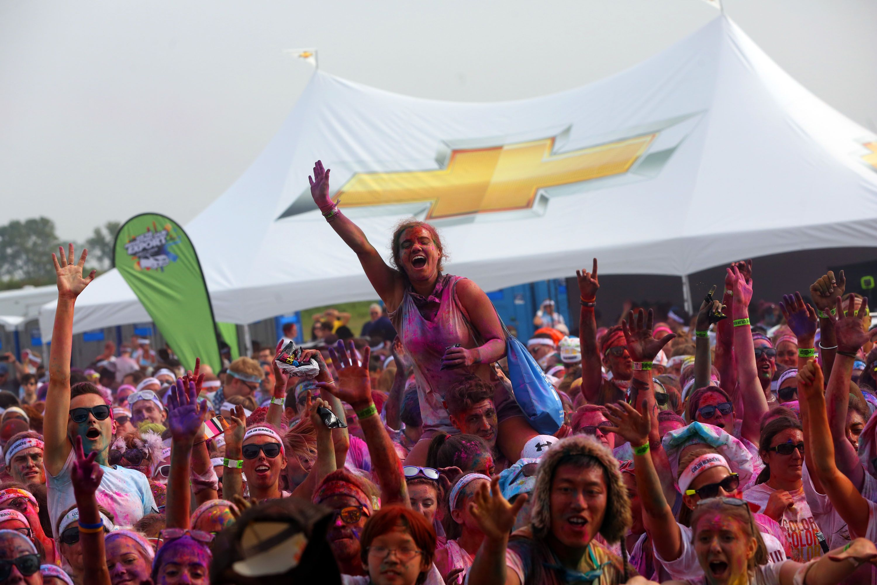 The Color Run 2020.Add A Little Color Into Your Life With The Color Run And