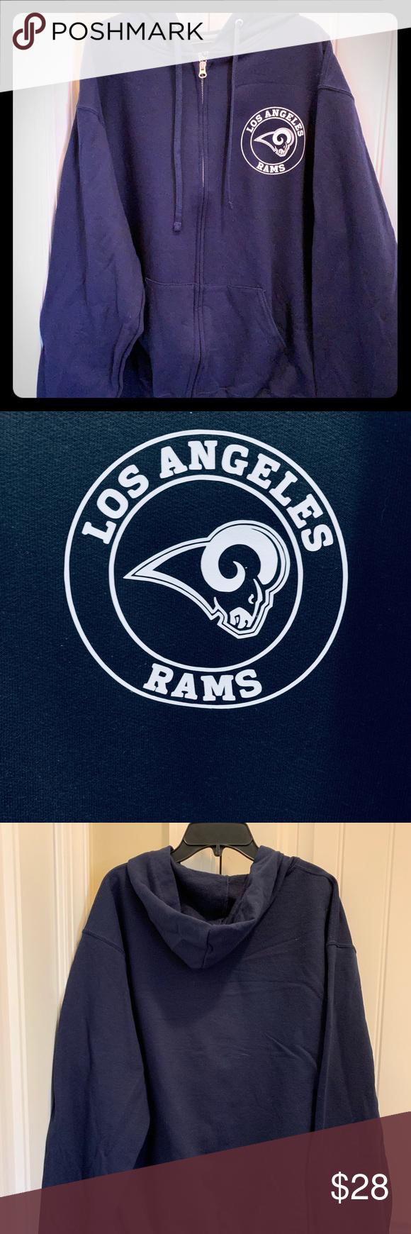 Nfl Los Angeles Rams Hoodie Nwt Sweatshirts Hoodie Sweatshirt Shirt Hoodies