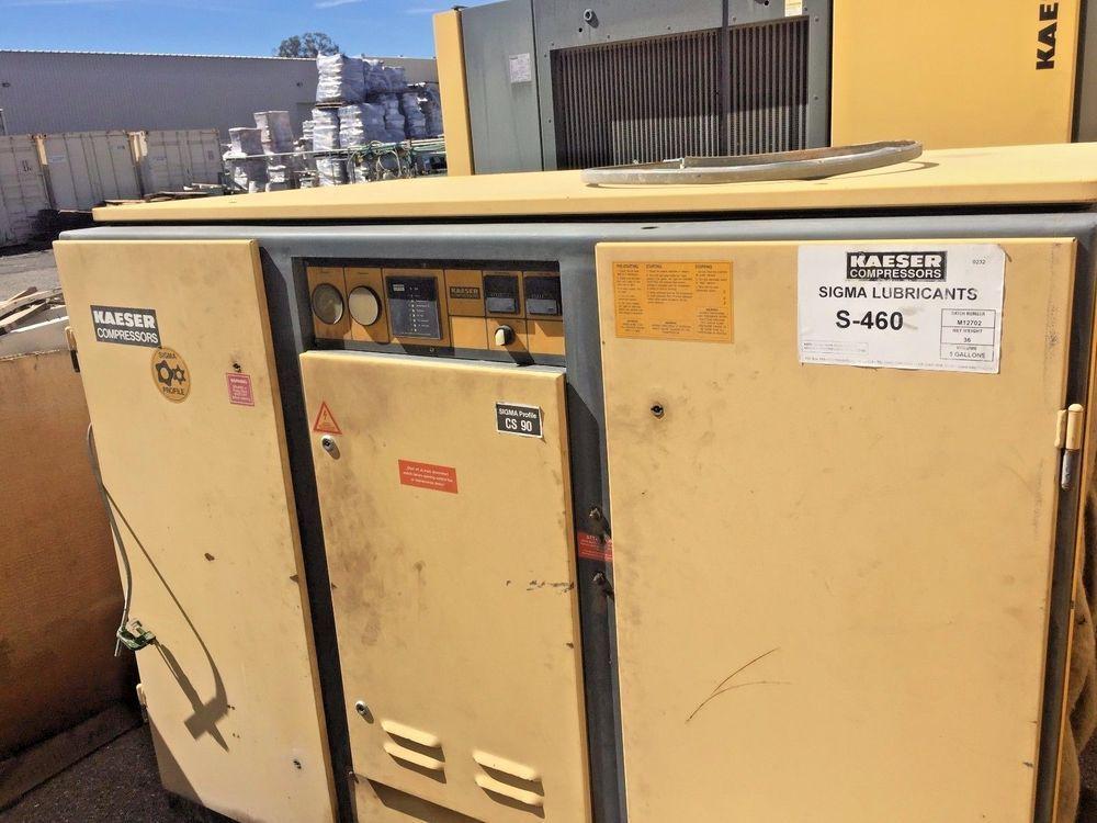 Kaeser 75hp Rotary Screw Air Compressor Kaeser Air Compressor Compressor Locker Storage