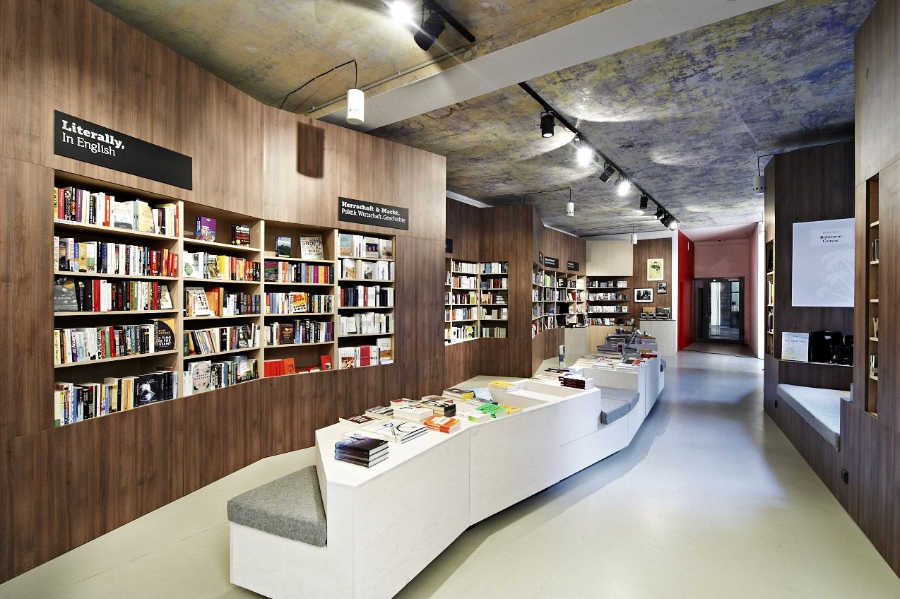 Long Narrow Bookstore