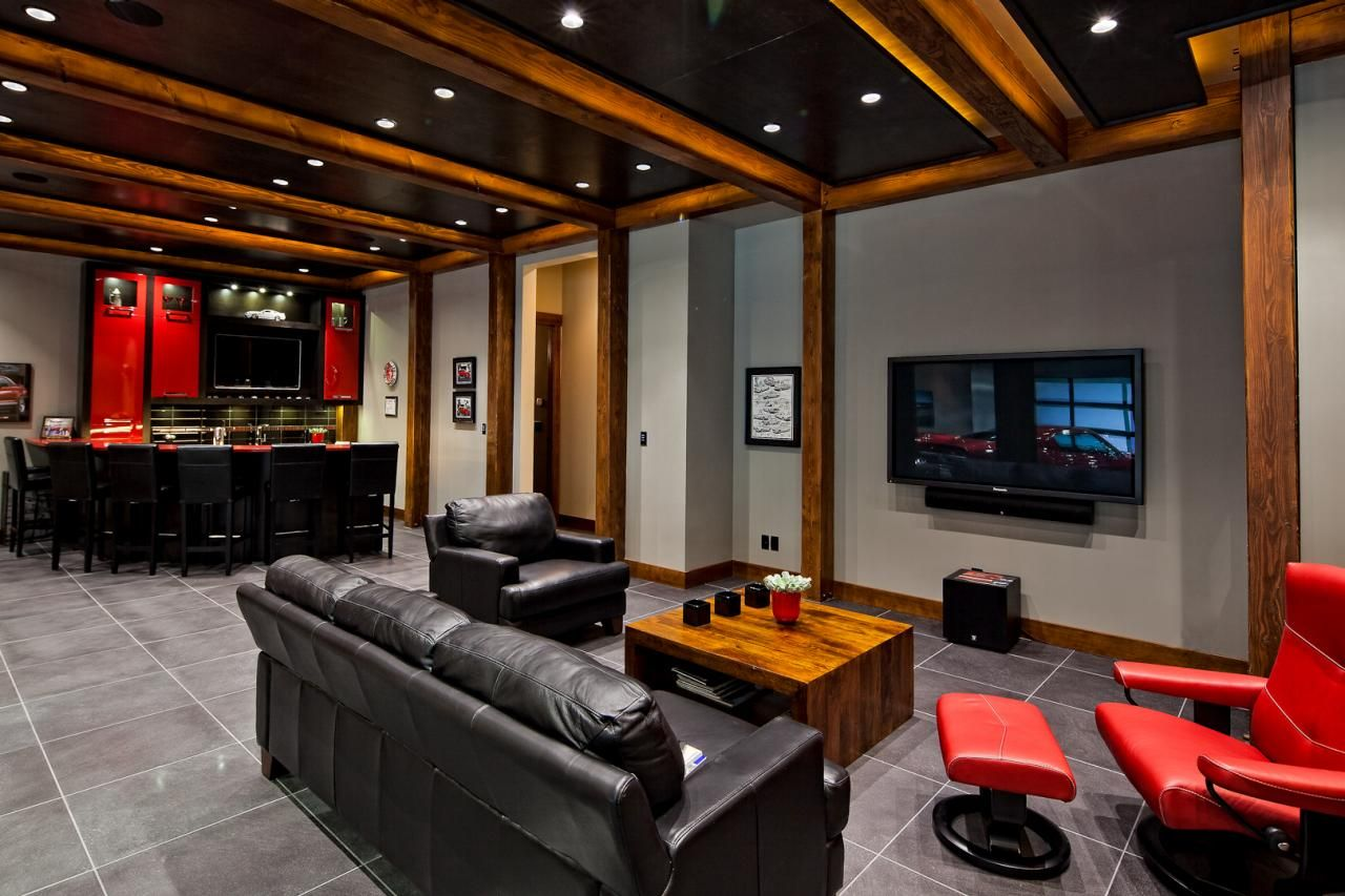Mens Man Cave Ideas : Men s bachelor pad decor ideas for a modern look