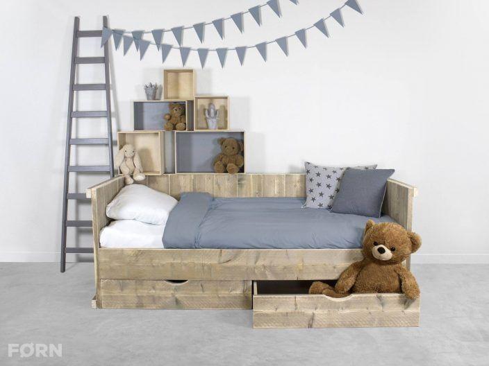 steigerhouten kajuitbed kinderbed steigerhout in de slaapkamer