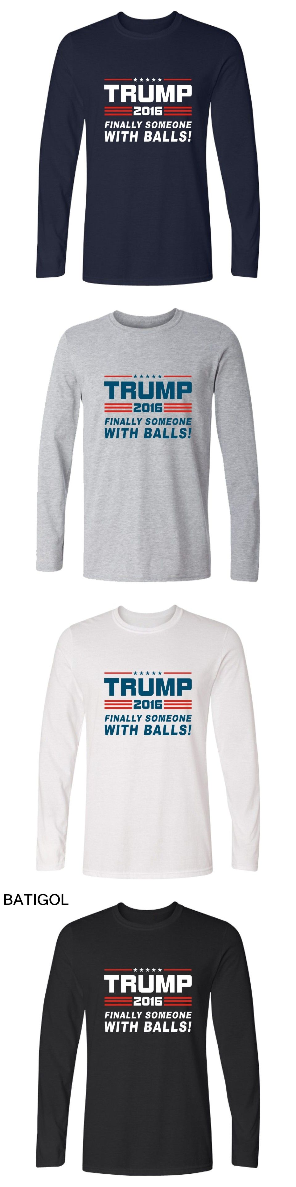 70aaf3ba Donald Trump Long Sleeve T Shirt