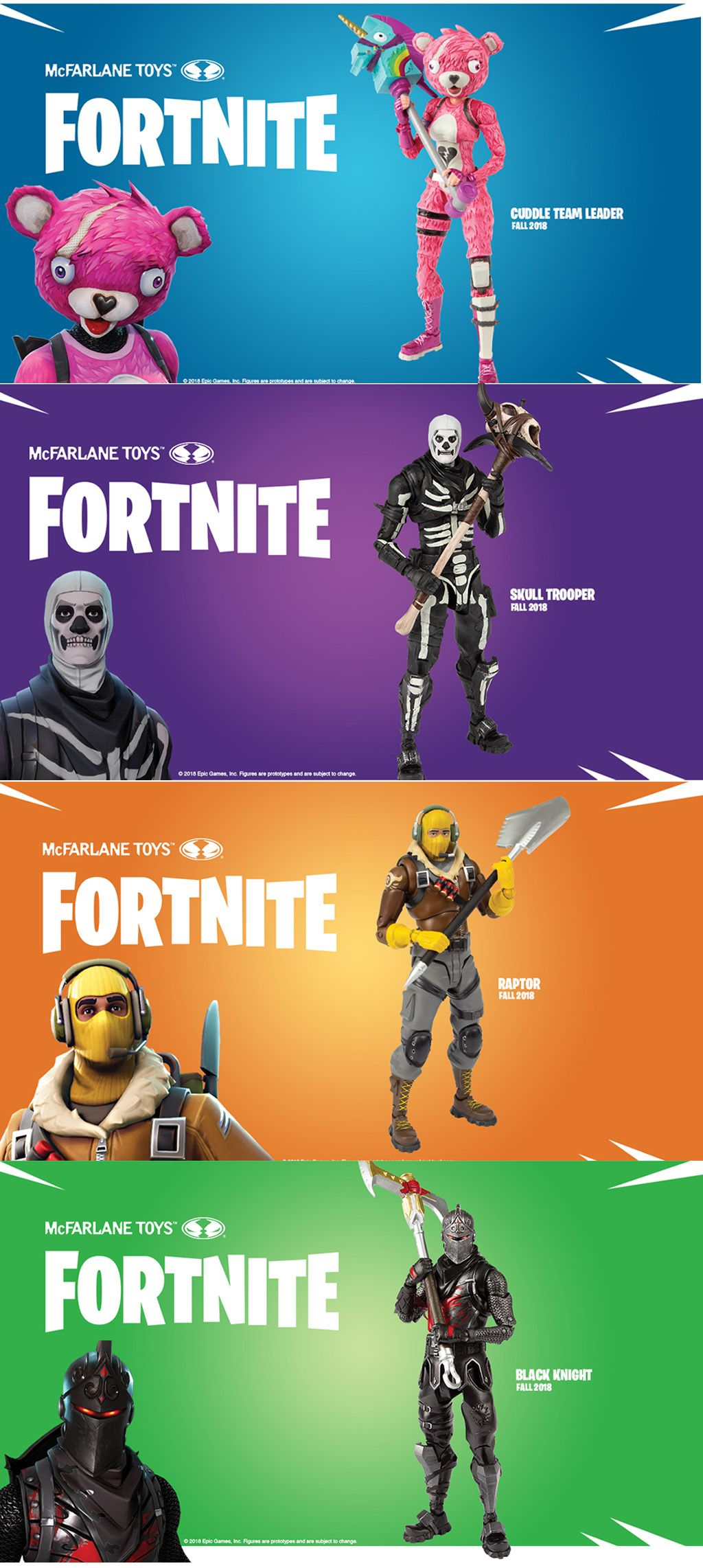 Fortnite Action Figure Preorders Are Up Featuring 7 Inches Tall And