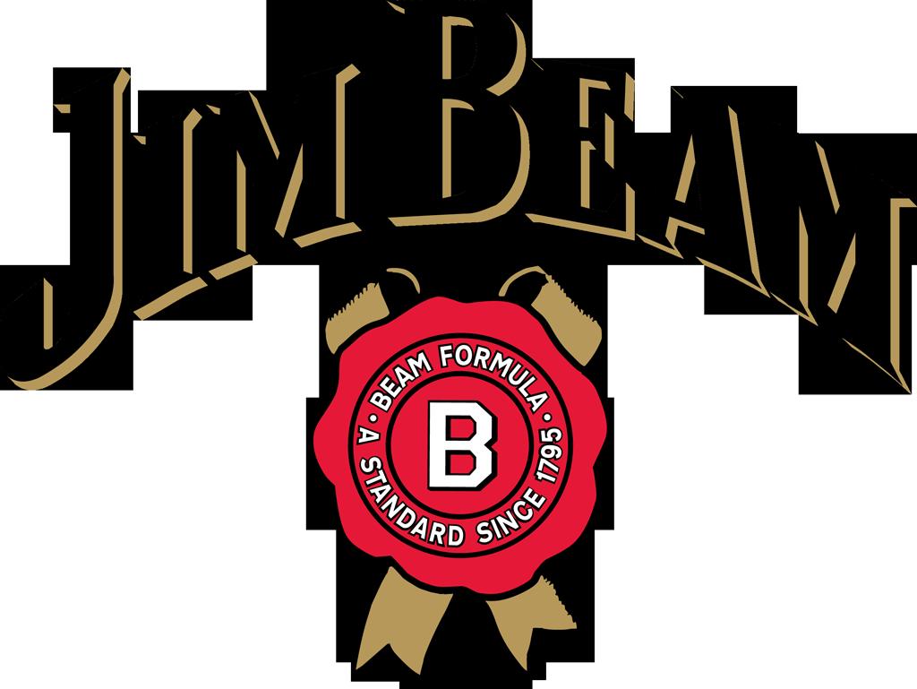 Jim Beam logo image Jim Beam is brand of bourbon whiskey