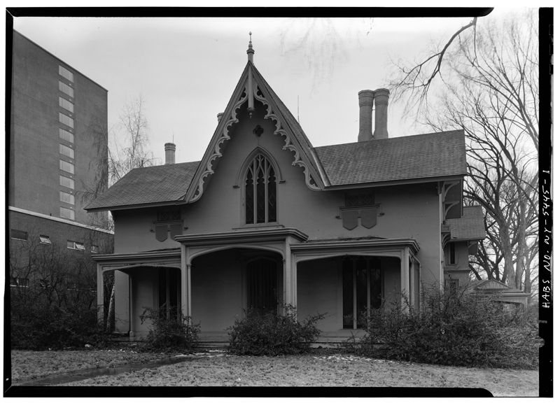 Carpenter Gothic Database Gothic House Gothic Revival Architecture House Front Porch
