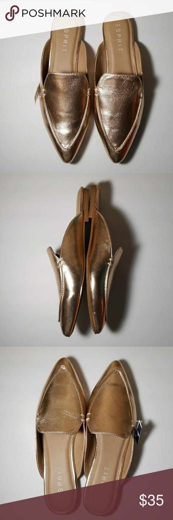 7490ac43bb05bc Esprit Mia Slip On Pointed Toe Mule Once you slide your feet into the Mia  Esprit