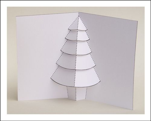 How To Make A Pop Up Christmas Tree Card For Dummies Christmas Tree Cards Tree Cards Pop Up Christmas Cards