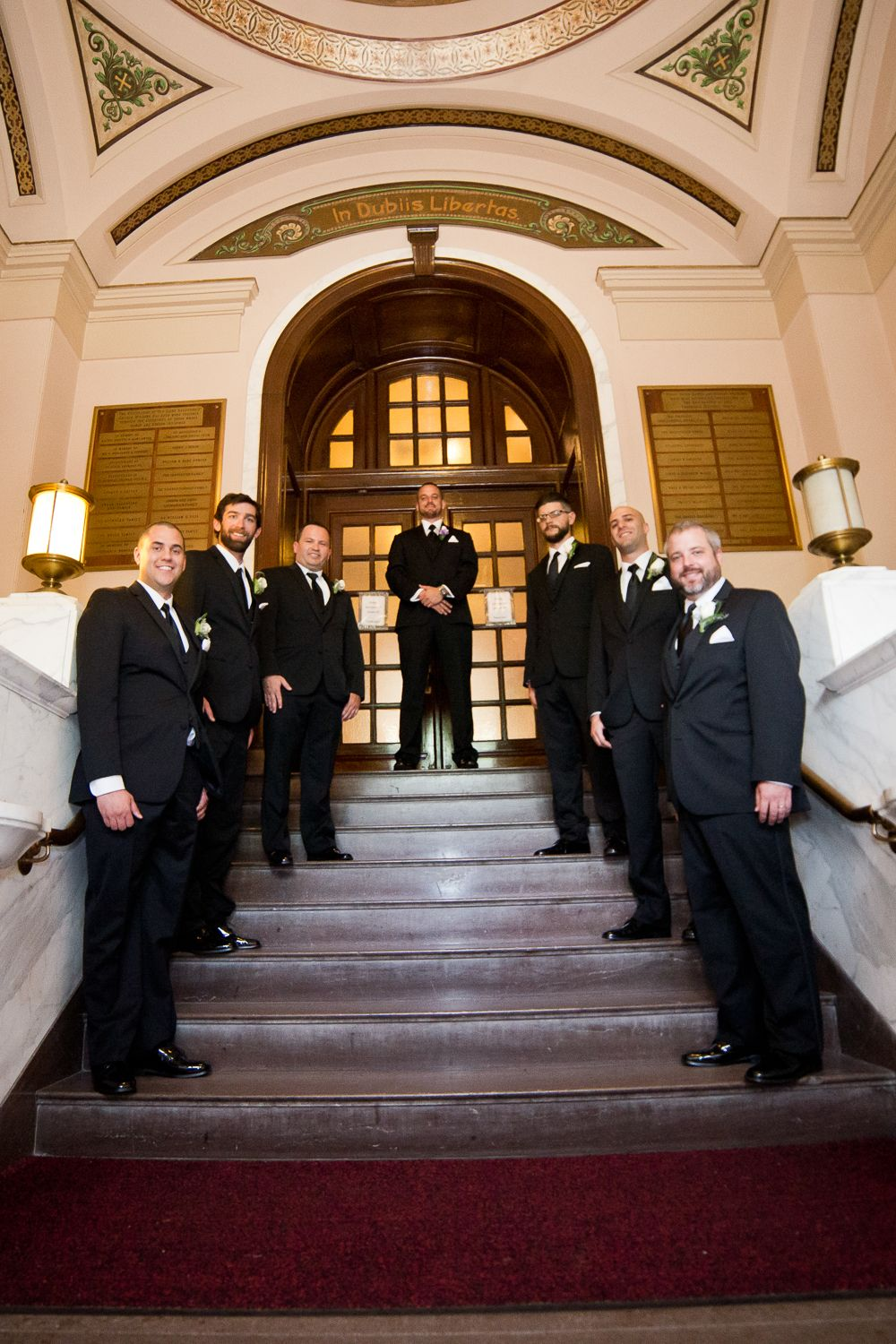 Groomsmen wedding photography by krista patton photography