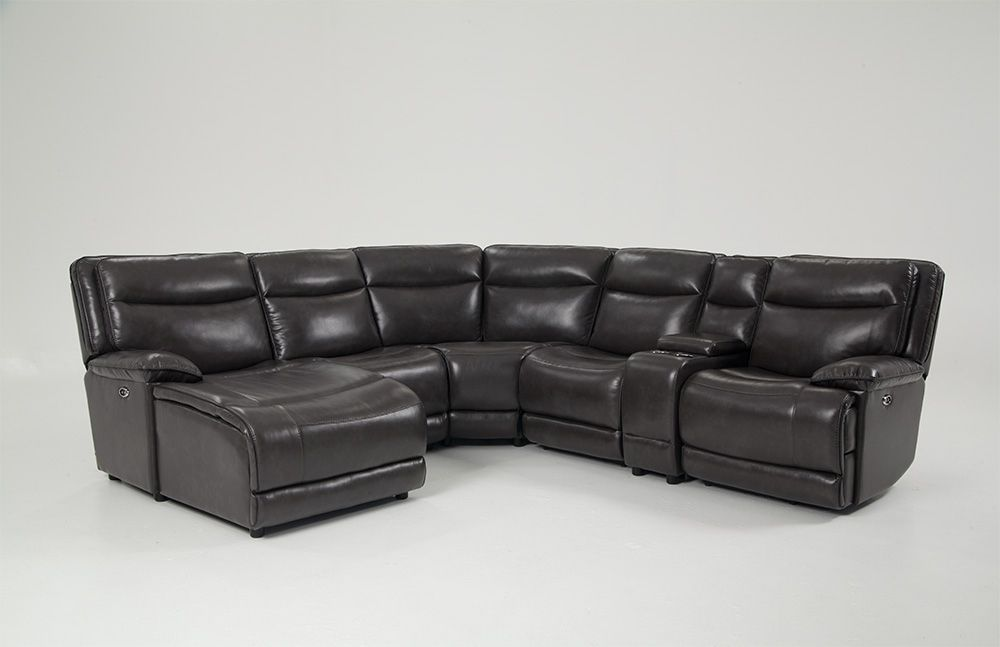 Bobs Sectional Sofas With Recliners Baci Living Room