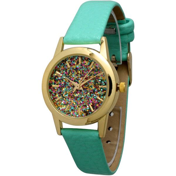 for item geneva watches relogio new leather women green casual fashion lot dress watch strap quartz feminino flower mint