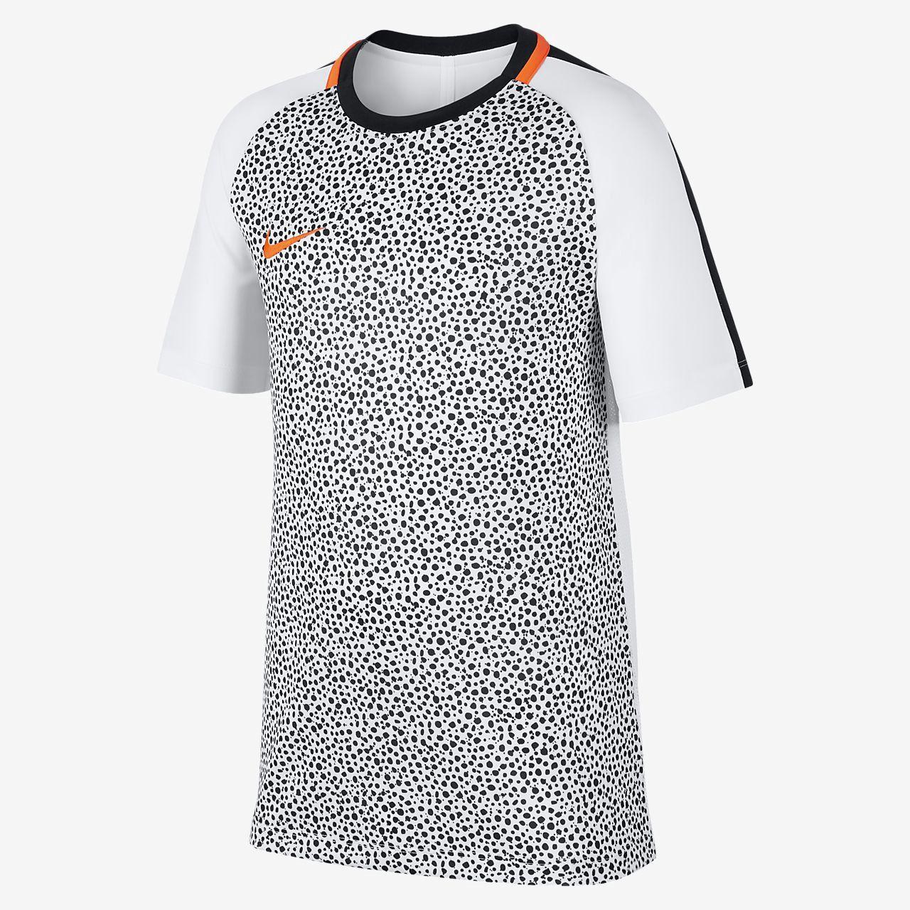 07fc1f6a2 Nike Dri-Fit Academy Big Kids' (Boys') Short Sleeve Soccer Top - M (10-12)  Orange