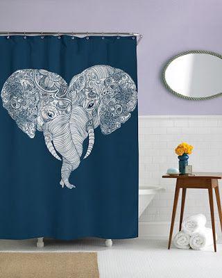 Elefante en el baño