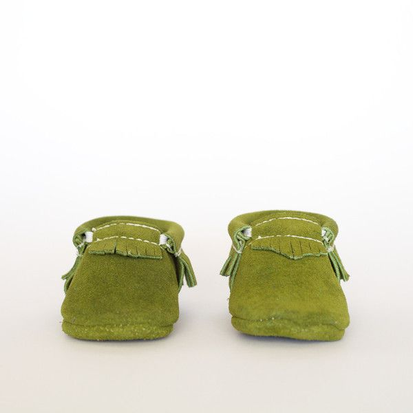 Grass Suede - Moccasin by Freshly Picked #babymoccs #freshlypicked #moccasins