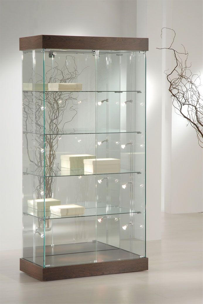 Glass Display Cabinet Showcases: Genova: Glass Display Showcase 188H
