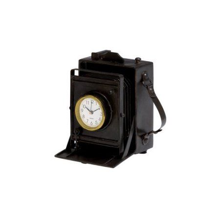 Home Clock Tabletop Clocks Vintage Cameras
