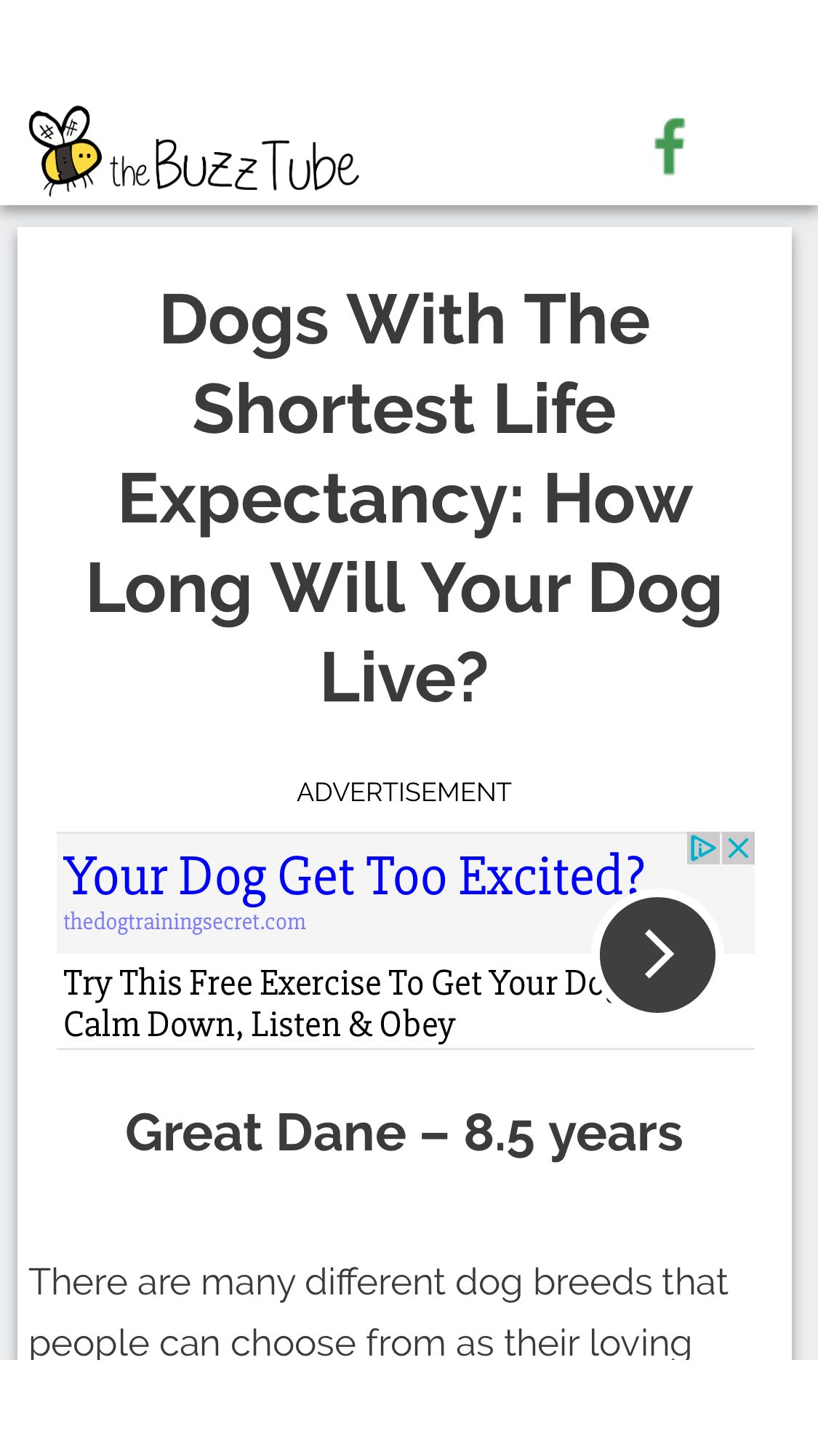 Dogs with the shortest life expectancy how long will your