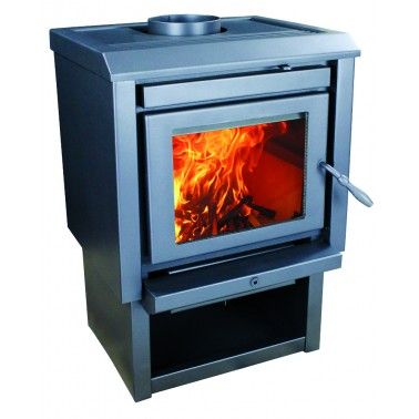 us stove bosca gold wood stove 400 sq ft black bcwg400bl - Us Stove