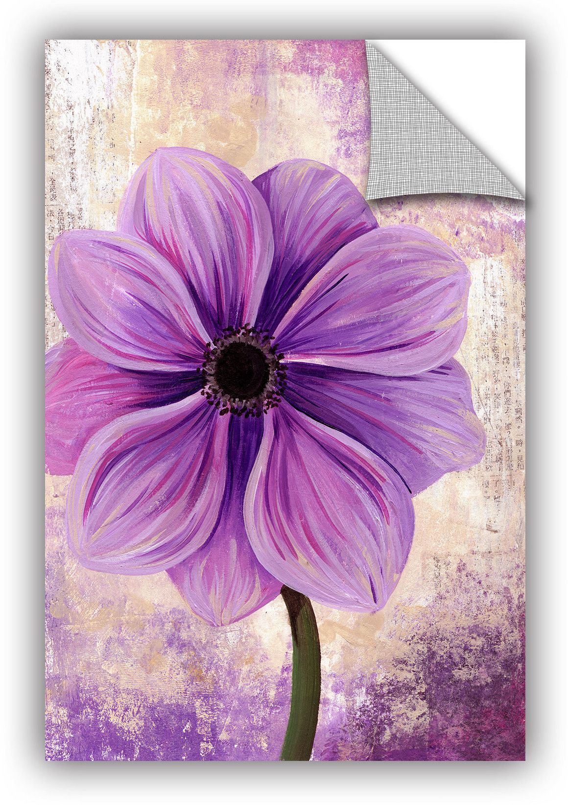 Tiffany budd anemone wall mural products pinterest wall murals