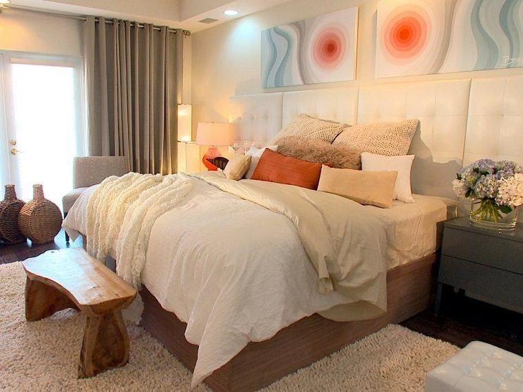 TABURETE dormitorios Pinterest Cabeceros, Cabecero y Camas