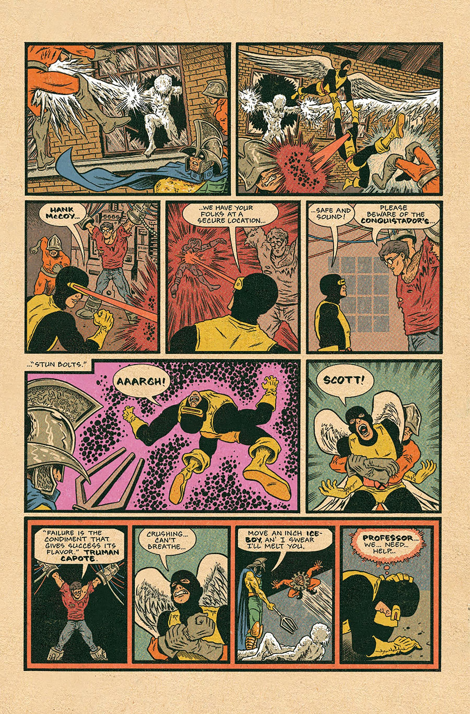 In X Men Grand Design Ed Piskor Tells The Superheroes Whole Story Grand Designs X Men Comic Art