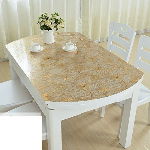 Soft Gl Mat Pvc Table Cloth Waterproof And Anti Ironing Oil Free Washing Plastic Tablecloths C 85x135cm 33x53inch