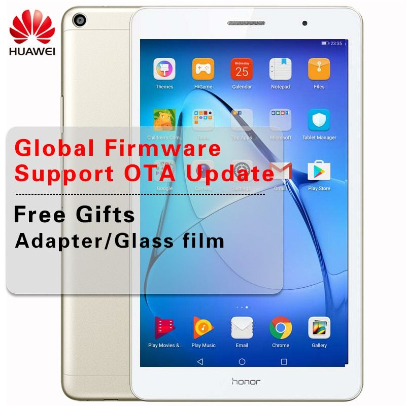 Global Rom Huawei Mediapad T3 Honor Play Tablet 2 8 Inch Lte Wifi Snapdragon 425 Quad Core 10 Points Touch Android 7 0 Pc 5 0mp Review Quad Tablet Snapdragons