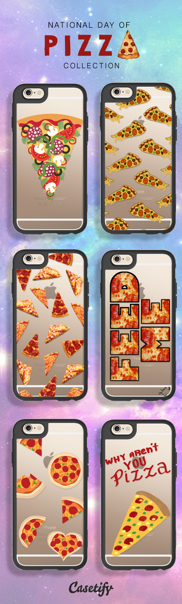 Because #NationalPizzaDay is just around the corner. https://www.casetify.com/artworks/gC53OLfI4E