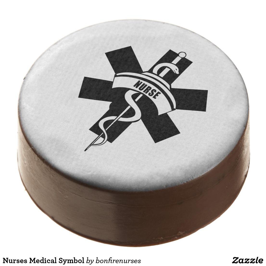 Nurses Medical Symbol Chocolate Covered Oreo Nurse Dedication