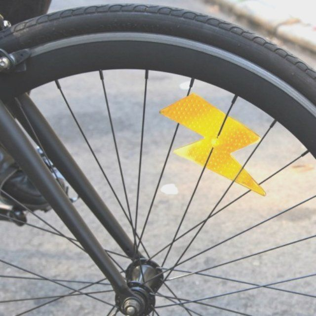 Bike Bolt Reflector Lightning Bolt Bike Mountain Bike Accessories