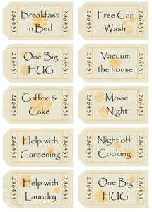 Such A Great Idea Even Dad Can Help The Kids With This Mothers Day Coupon Book Mother S Day Diy Mother S Day Coupons Father S Day Diy