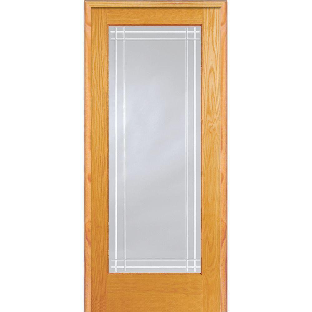 Mmi Door 335 In X 8175 In Classic Clear Perimeter V Groove 1
