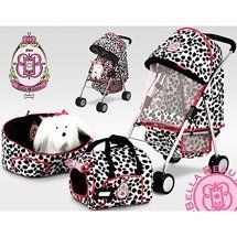 Bella Beau 4 Piece Pet Set with Shi-Tzu by Hauck. $99.00. For Ages 3 & up.. Includes Dream n Dayz bed with foam filling. Includes stroller with canopy and basket. Plush Shi-Tzu included!. Includes pet carrier, badge with name tag for included plush dog. Kids can keep their pet in style with the Bella Beau pet set. Includes plush Shi-Tzu dog.
