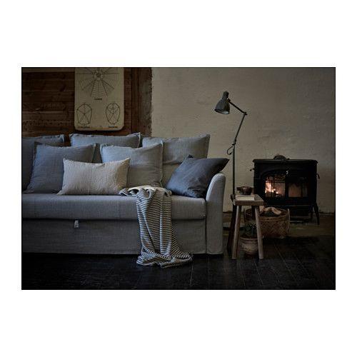 Holmsund sof cama 3 plazas nordvalla gris ikea a Ikea catalogo sofas cama
